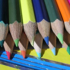 "LORIEANNJ SAYS,""Life is as a multicolor assortment of pencils with points and colorful experiences to design and create. "" Lorie Ann Jermoune- January 27, 2013dreamstimefree_234481.jpg-"